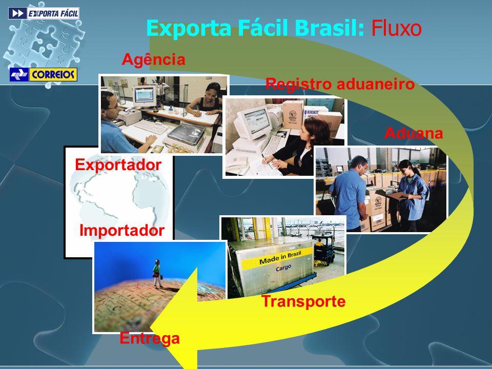 Exporta Fácil Brasil: Fluxo