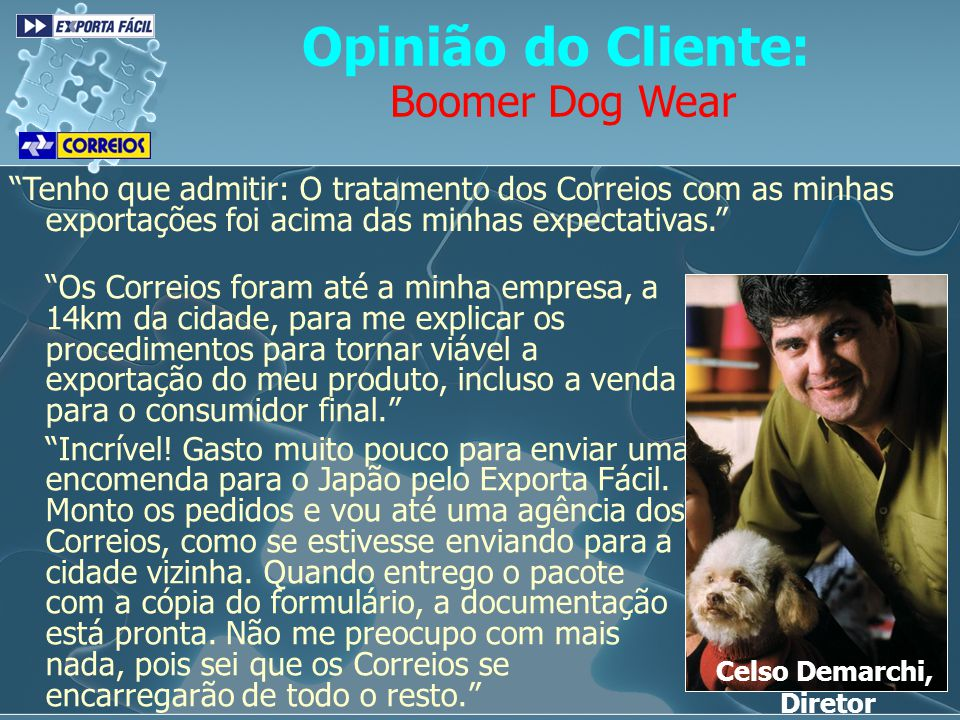Opinião do Cliente: Boomer Dog Wear