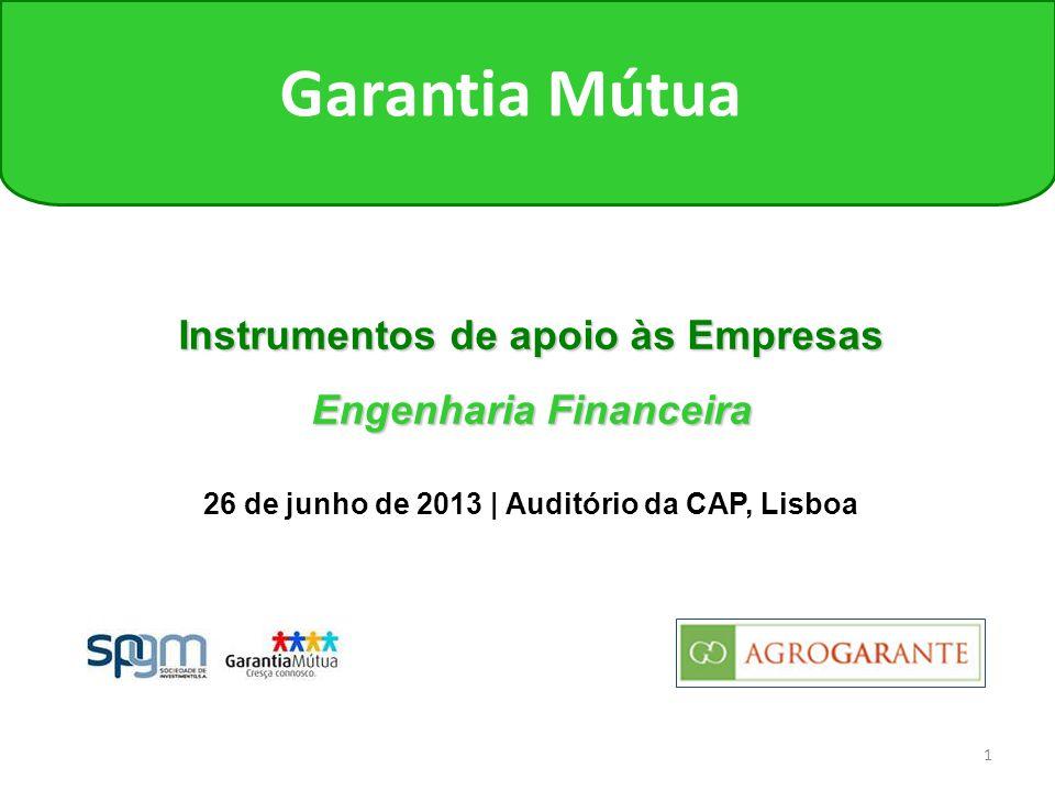Instrumentos de apoio às Empresas Engenharia Financeira