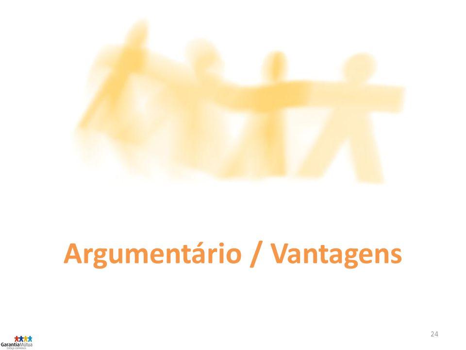 Argumentário / Vantagens
