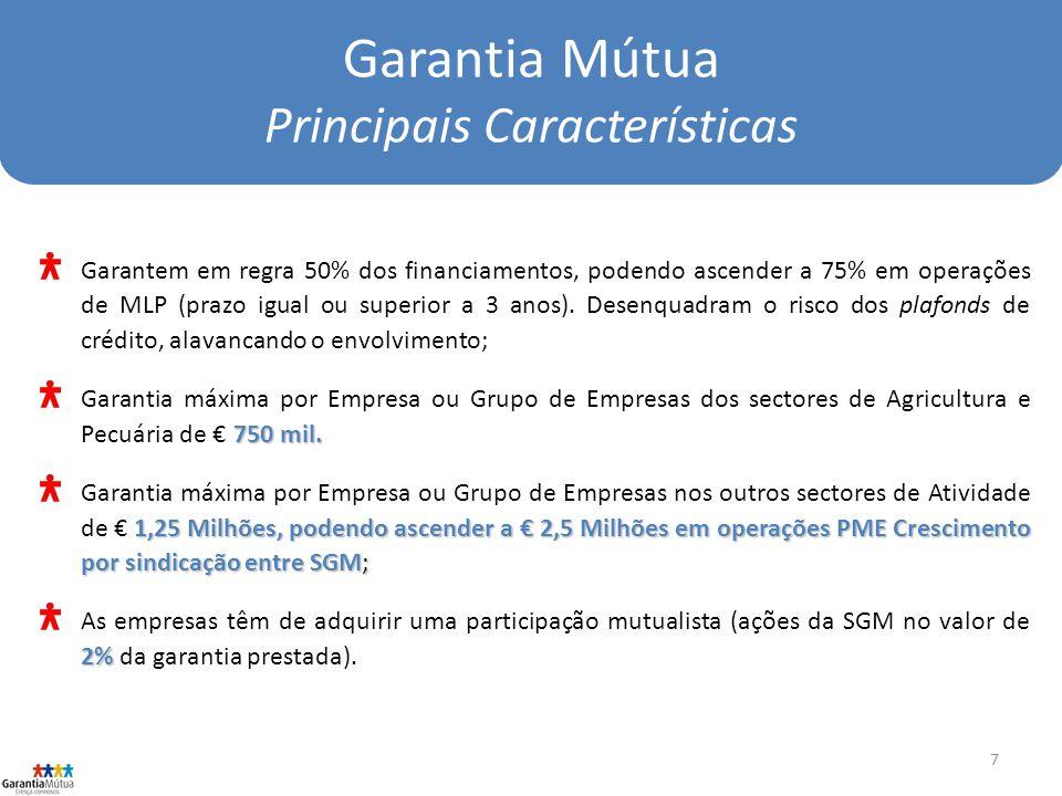Garantia Mútua Principais Características