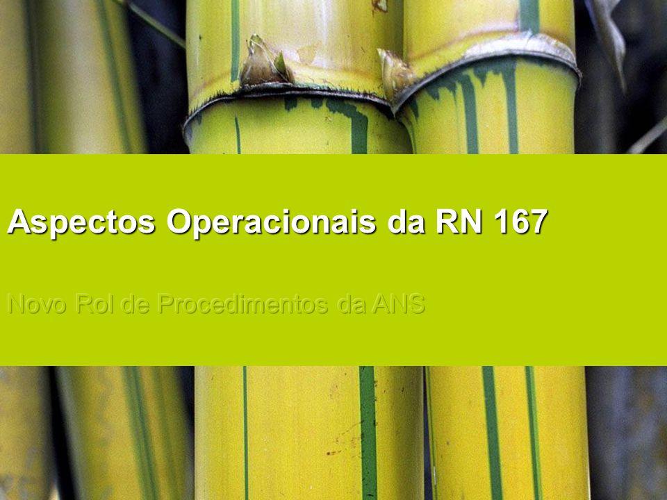 Aspectos Operacionais da RN 167