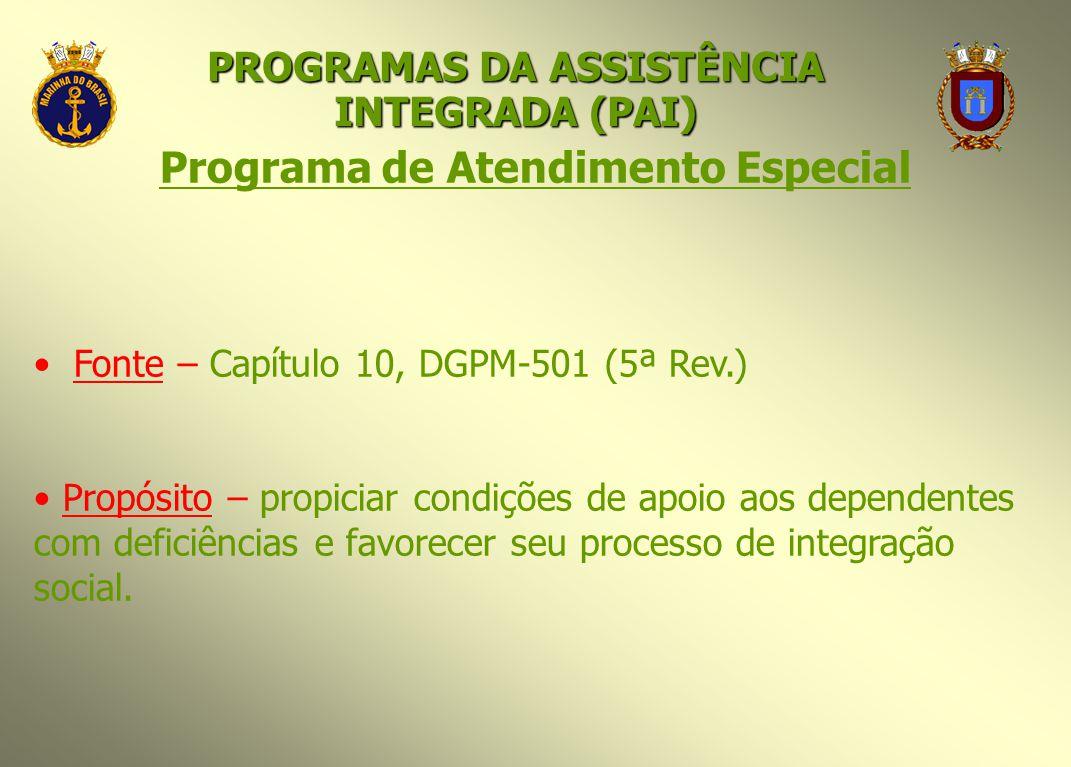 Programa de Atendimento Especial