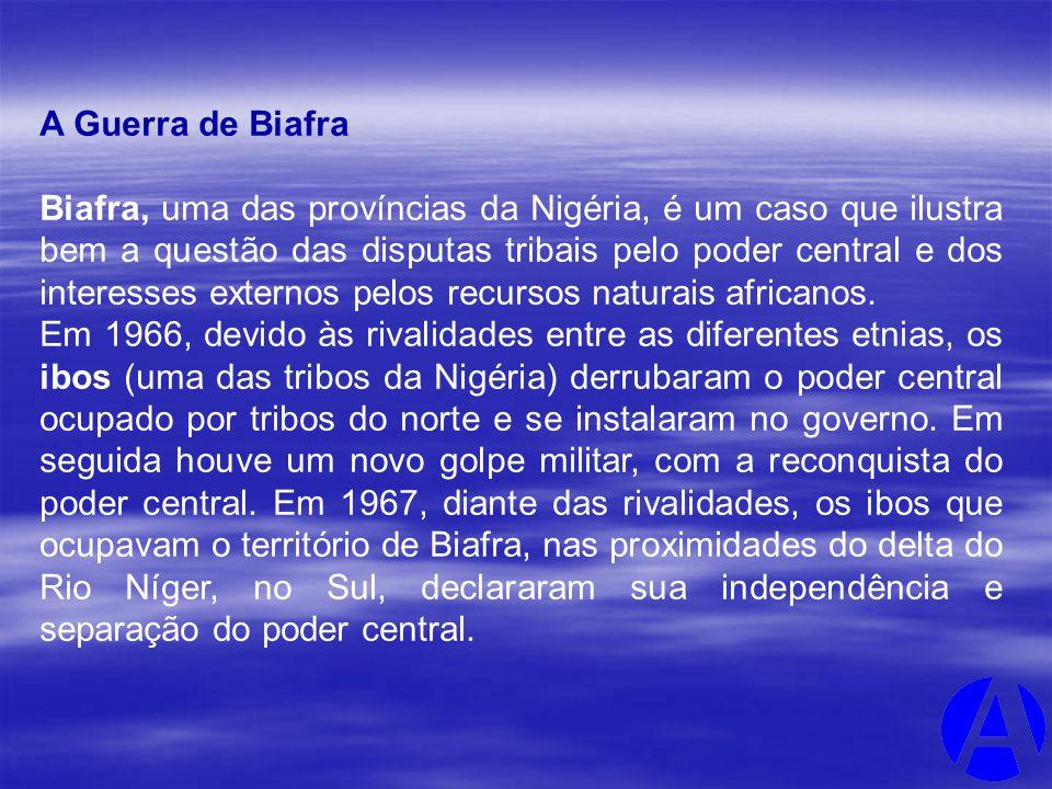 A Guerra de Biafra