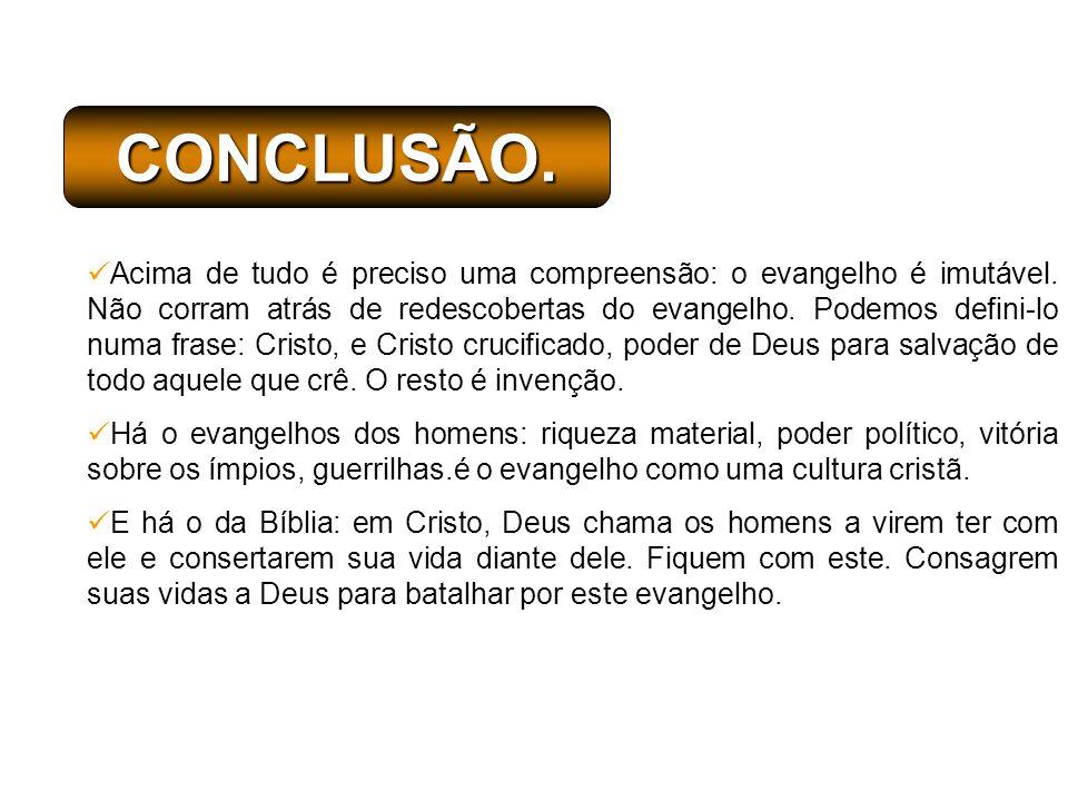 CONCLUSÃO.