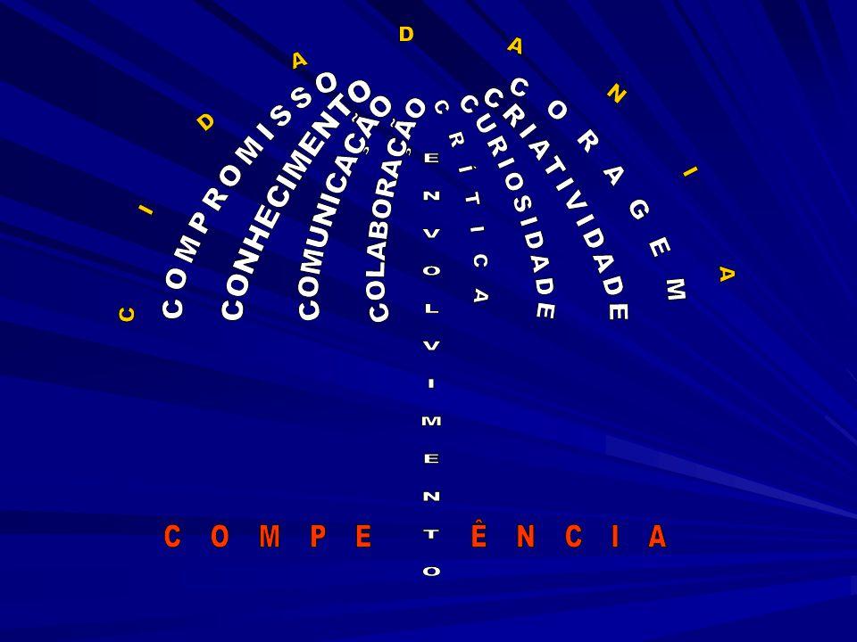 C I D A D A N I A CORAGEM COMPROMISSO CRÍTICA CURIOSIDADE CRIATIVIDADE