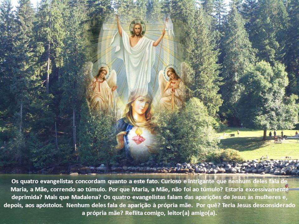 Os quatro evangelistas concordam quanto a este fato
