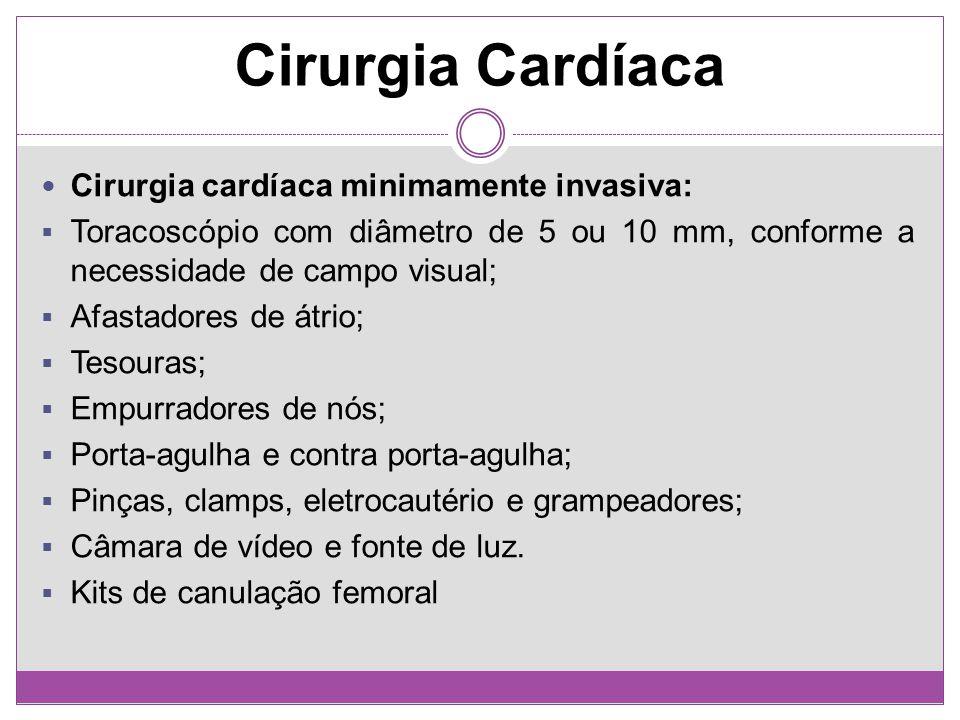 Cirurgia Cardíaca Cirurgia cardíaca minimamente invasiva: