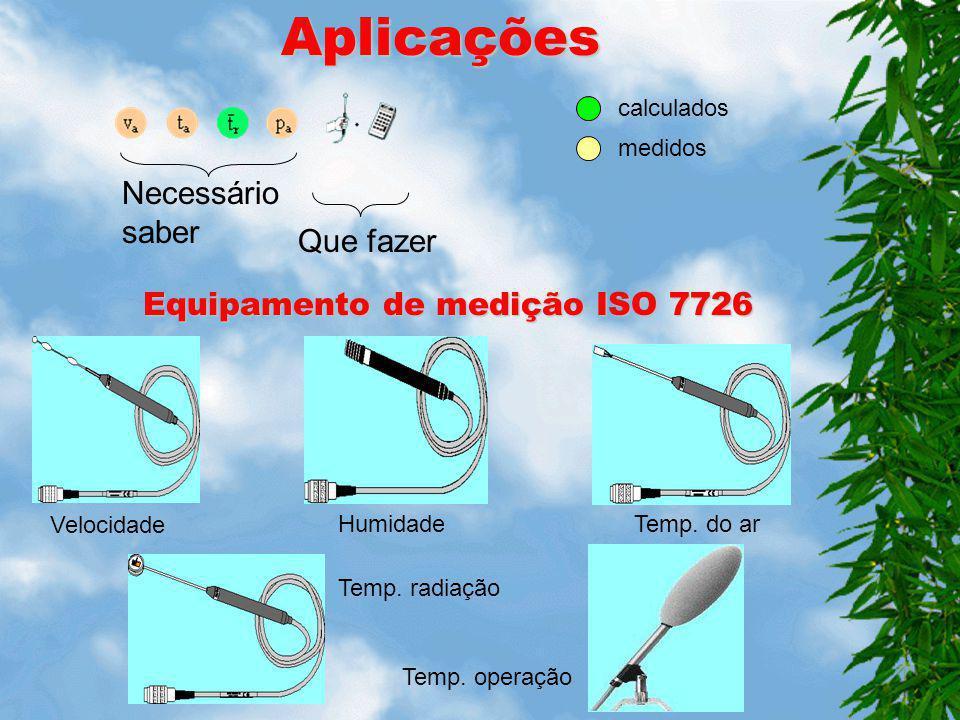 Equipamento de medição ISO 7726