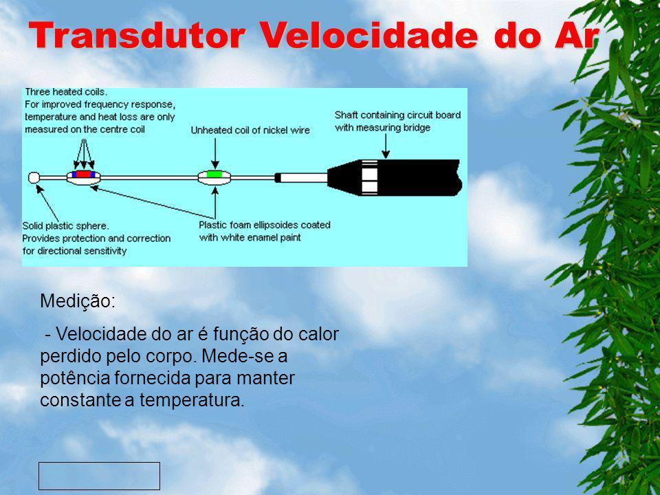 Transdutor Velocidade do Ar