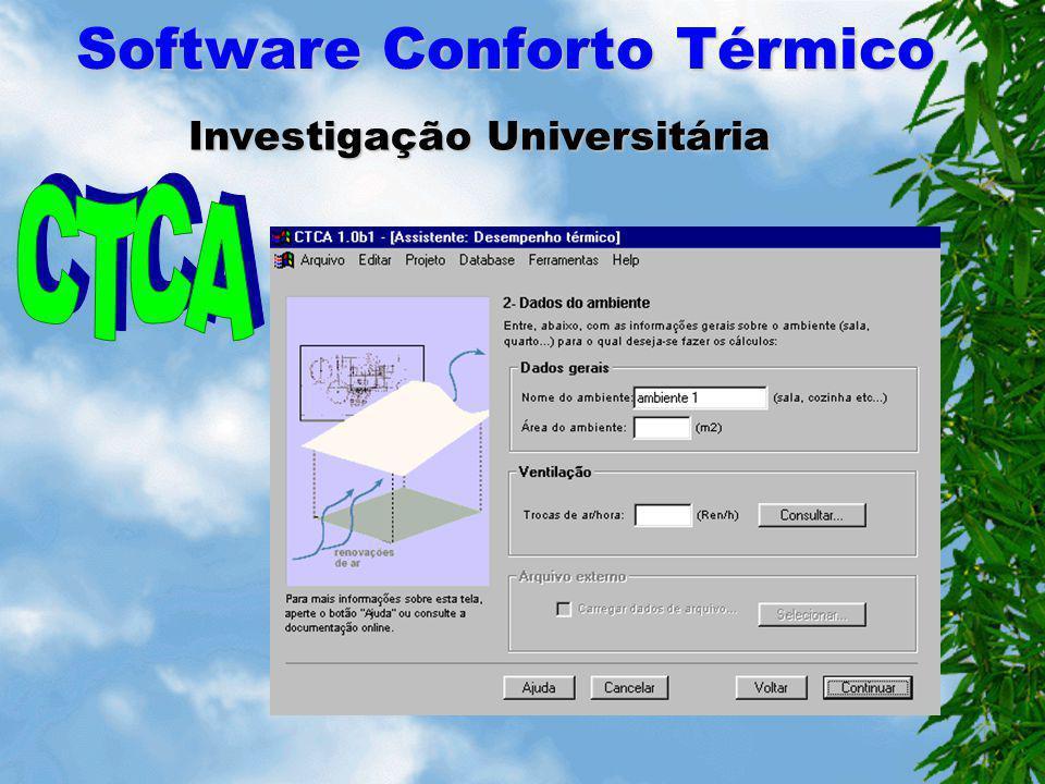 Software Conforto Térmico