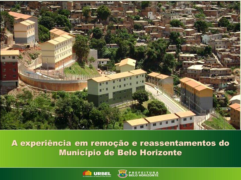 A experiência em remoção e reassentamentos do Município de Belo Horizonte