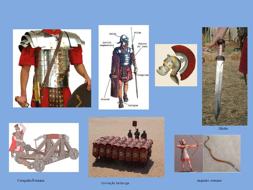 Gládio Catapulta Romana Arqueiro romano Formação tartaruga