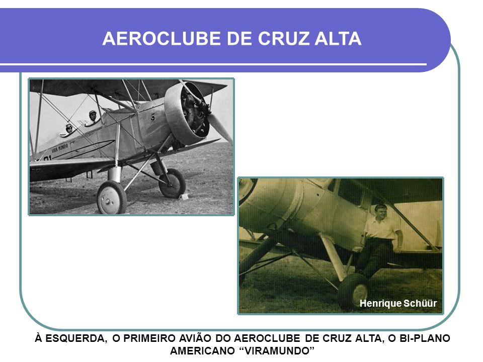AEROCLUBE DE CRUZ ALTA Henrique Schüür.
