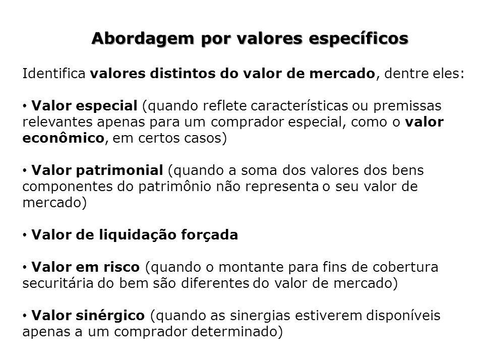 Abordagem por valores específicos