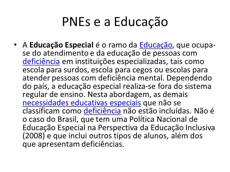 PNEs e a Educação