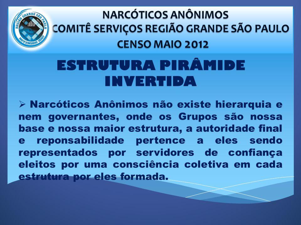 COMITÊ SERVIÇOS REGIÃO GRANDE SÃO PAULO ESTRUTURA PIRÂMIDE INVERTIDA