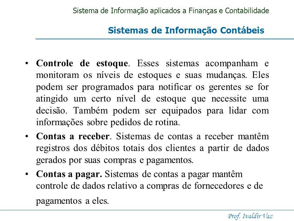 Sistemas de Informação Contábeis