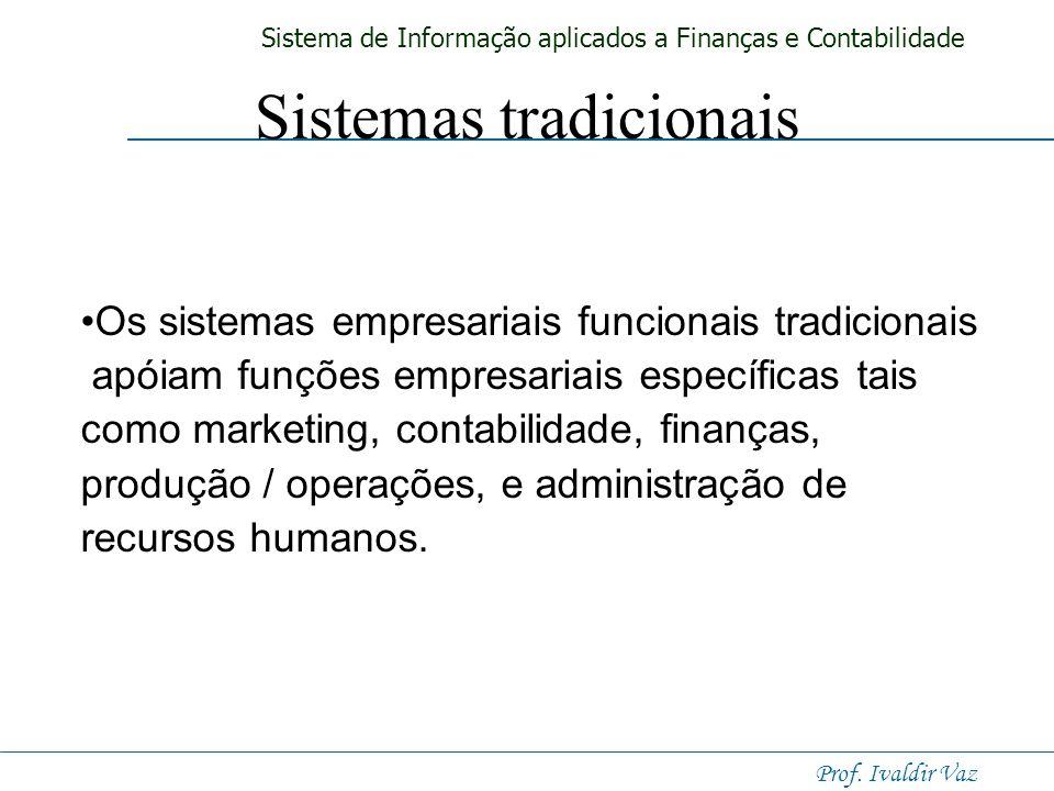 Sistemas tradicionais