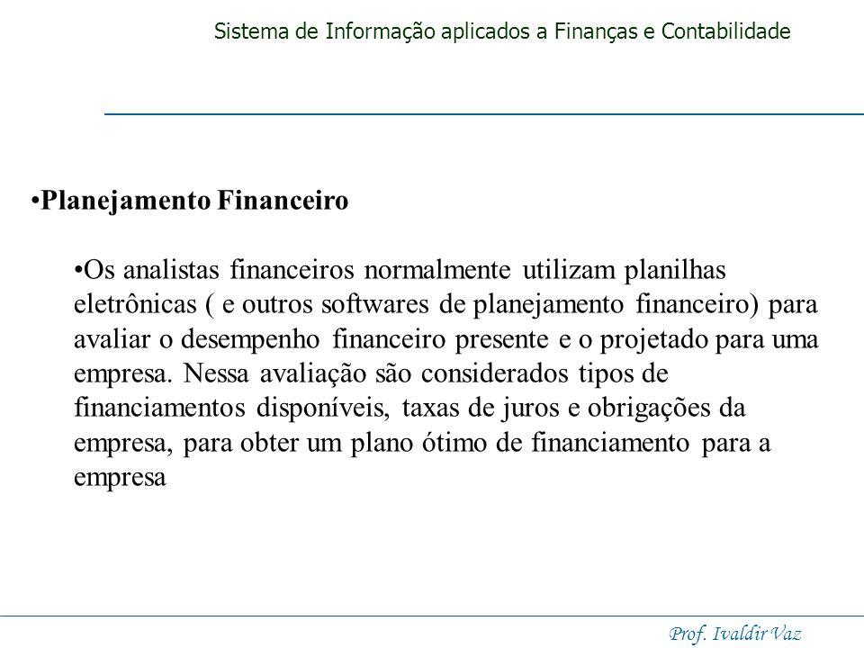 . Planejamento Financeiro