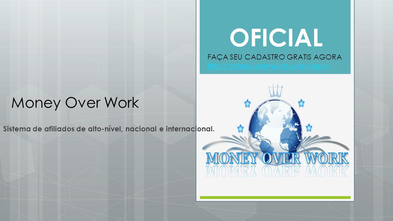 Sistema de afiliados de alto-nível, nacional e internacional.