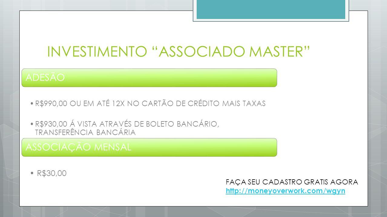 INVESTIMENTO ASSOCIADO MASTER