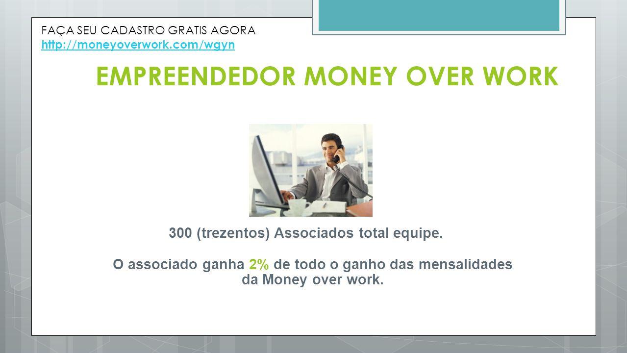 EMPREENDEDOR MONEY OVER WORK