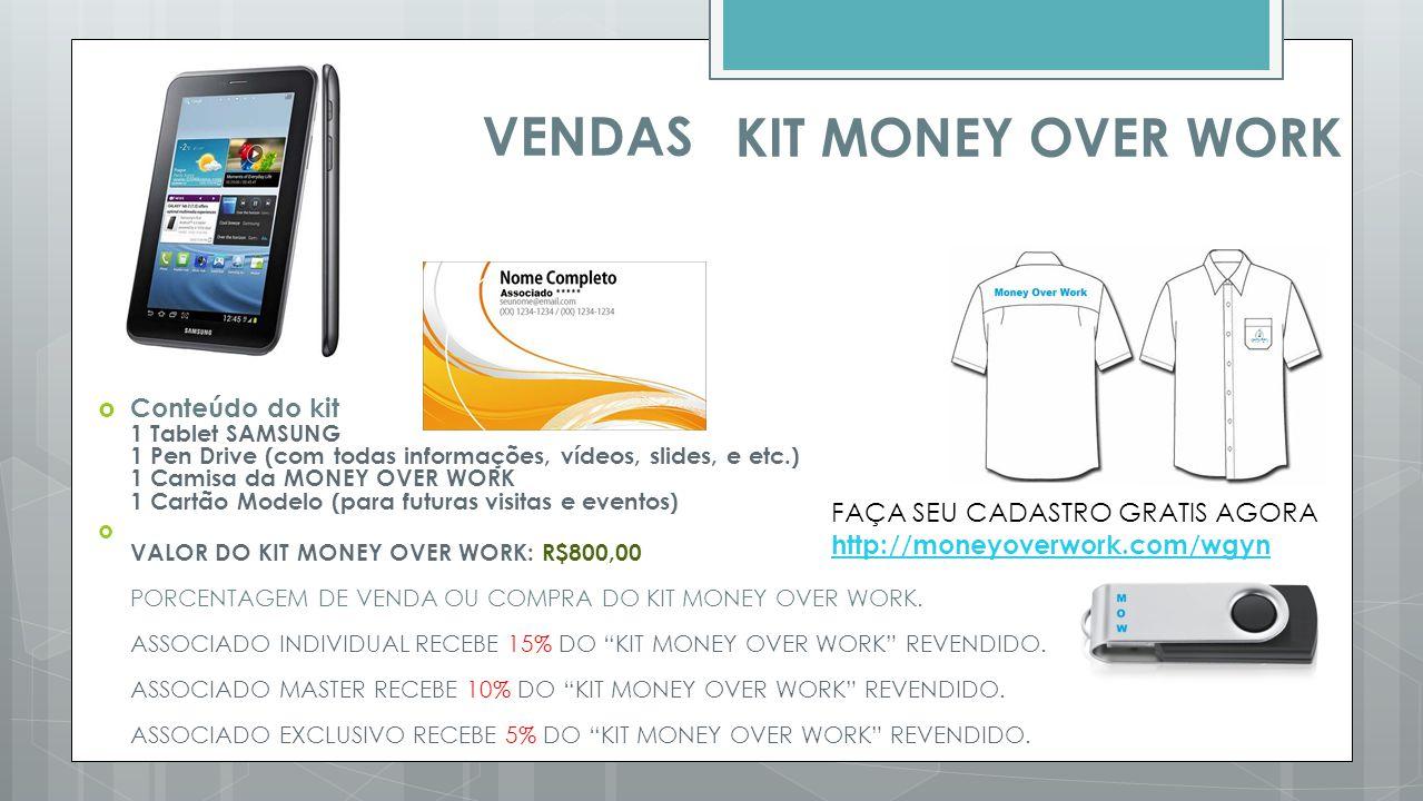 VENDAS KIT MONEY OVER WORK