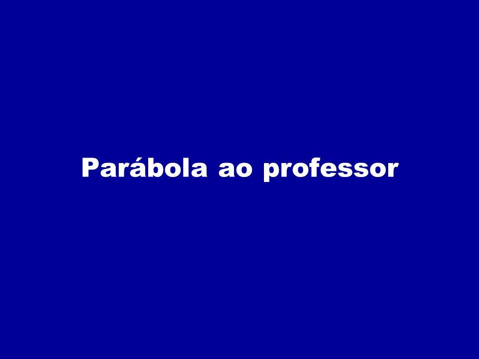 Parábola ao professor