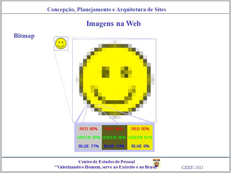 Imagens na Web Bitmap Centro de Estudos de Pessoal