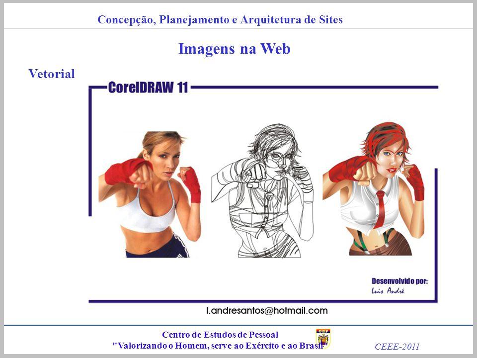 Imagens na Web Vetorial Centro de Estudos de Pessoal