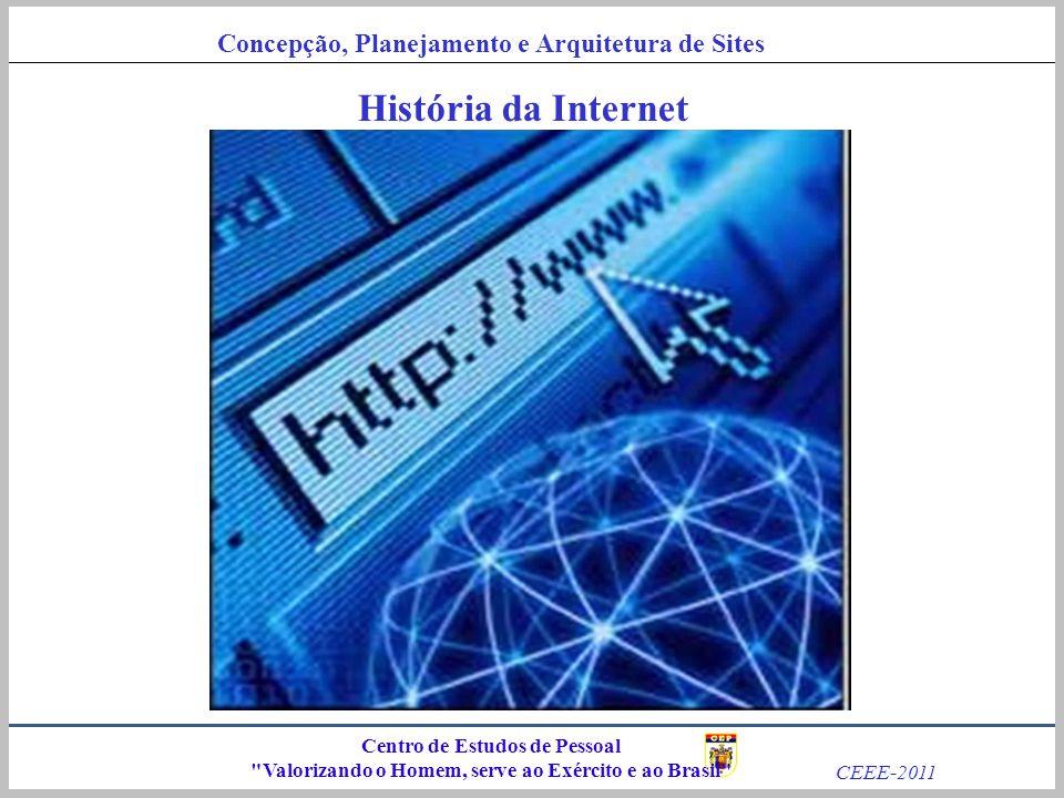História da Internet Centro de Estudos de Pessoal