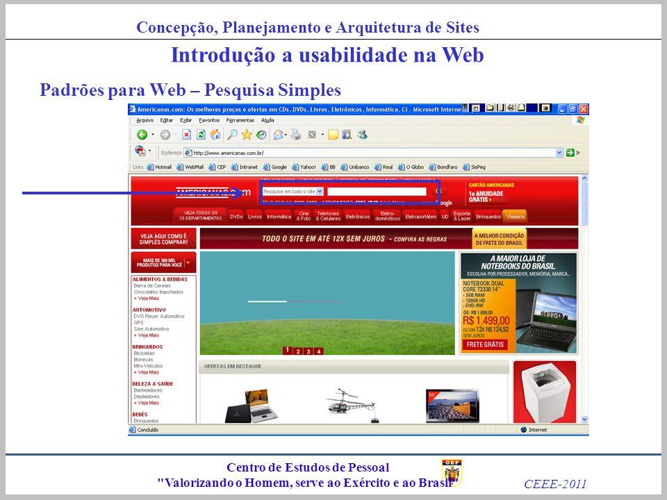 Introdução a usabilidade na Web