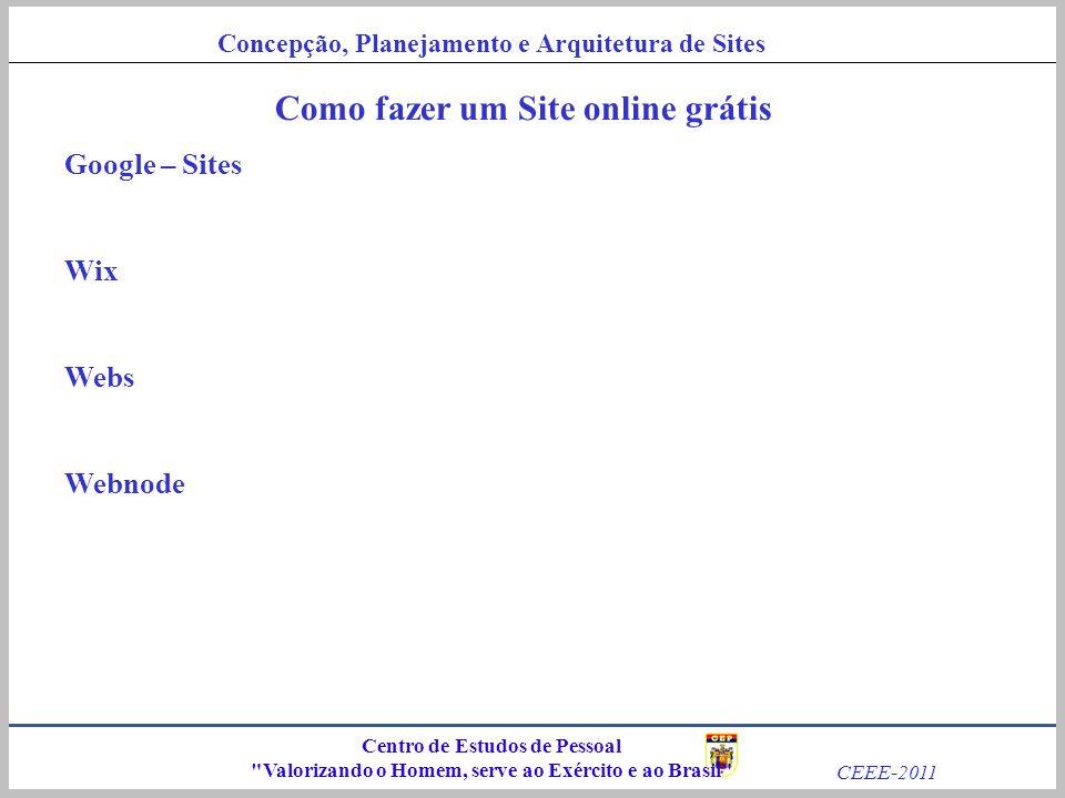 Como fazer um Site online grátis