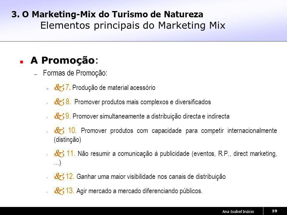 3. O Marketing-Mix do Turismo de Natureza