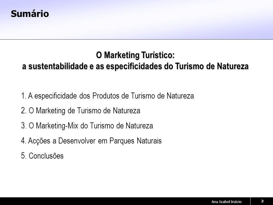 O Marketing Turístico: