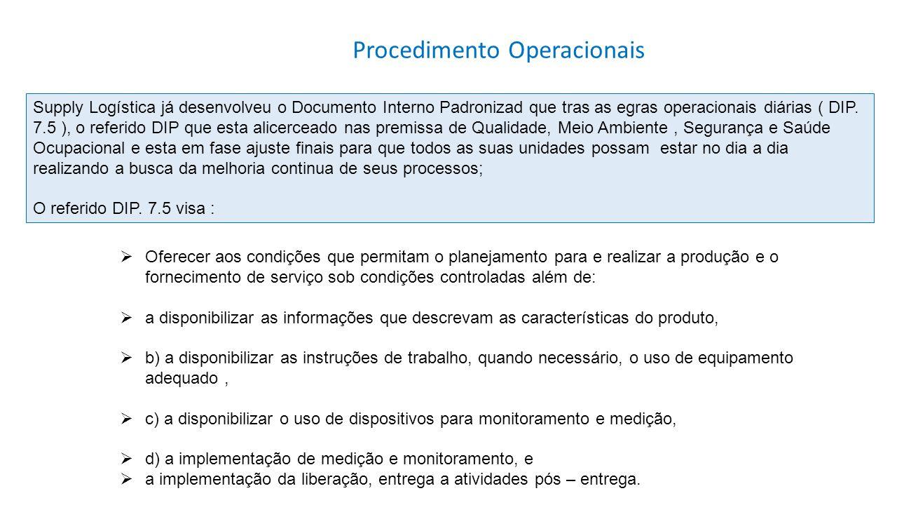 Procedimento Operacionais