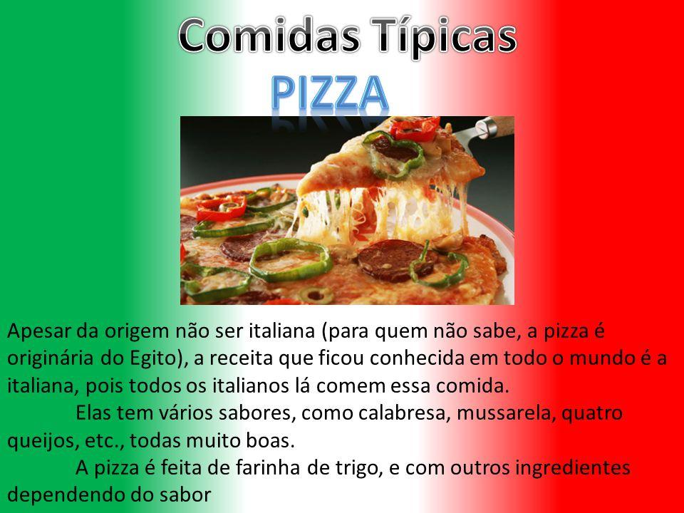 Comidas Típicas PIZZA.