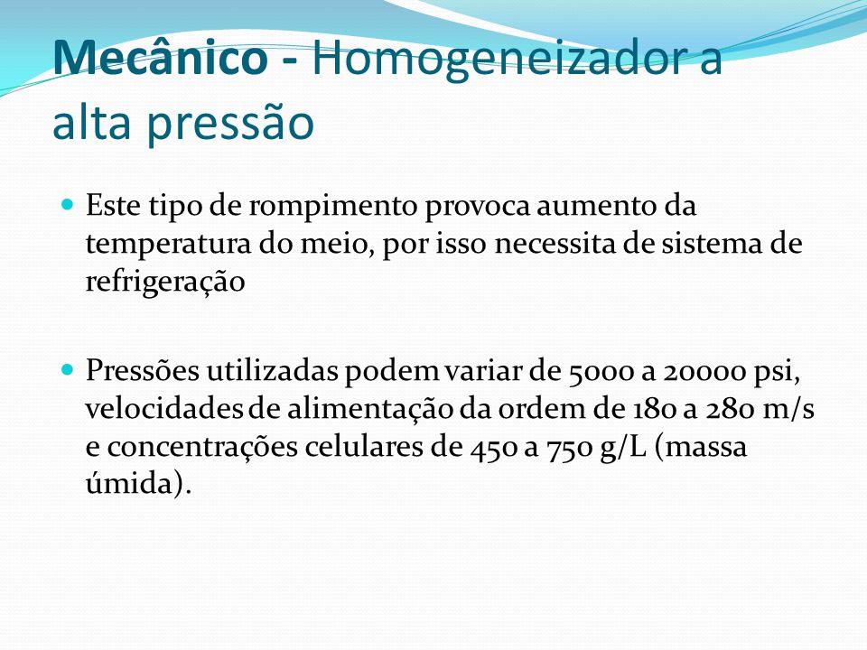 Mecânico - Homogeneizador a alta pressão