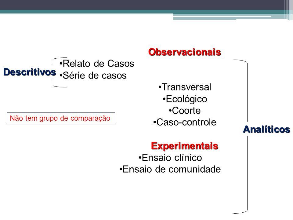 Observacionais Experimentais