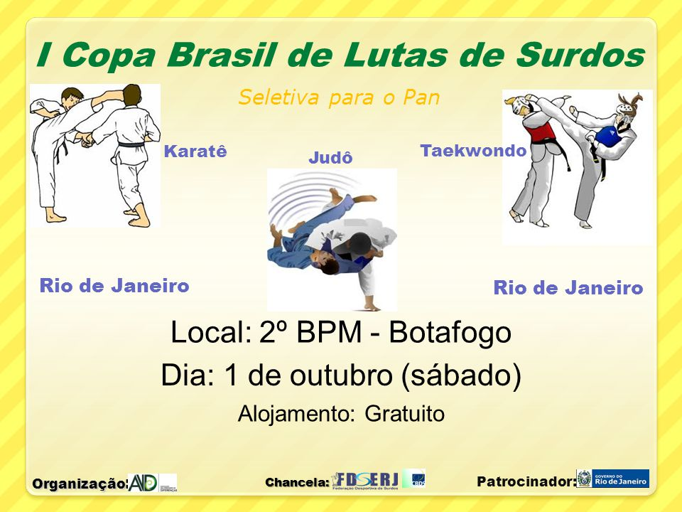 I Copa Brasil de Lutas de Surdos