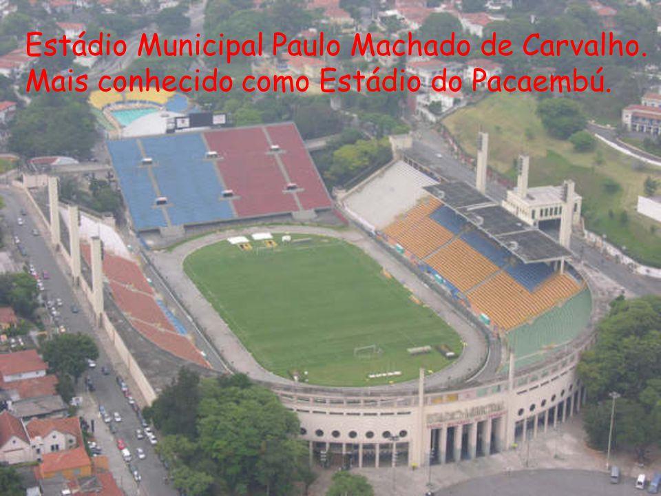 Estádio Municipal Paulo Machado de Carvalho.