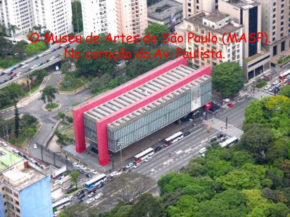 O Museu de Artes de São Paulo (MASP).