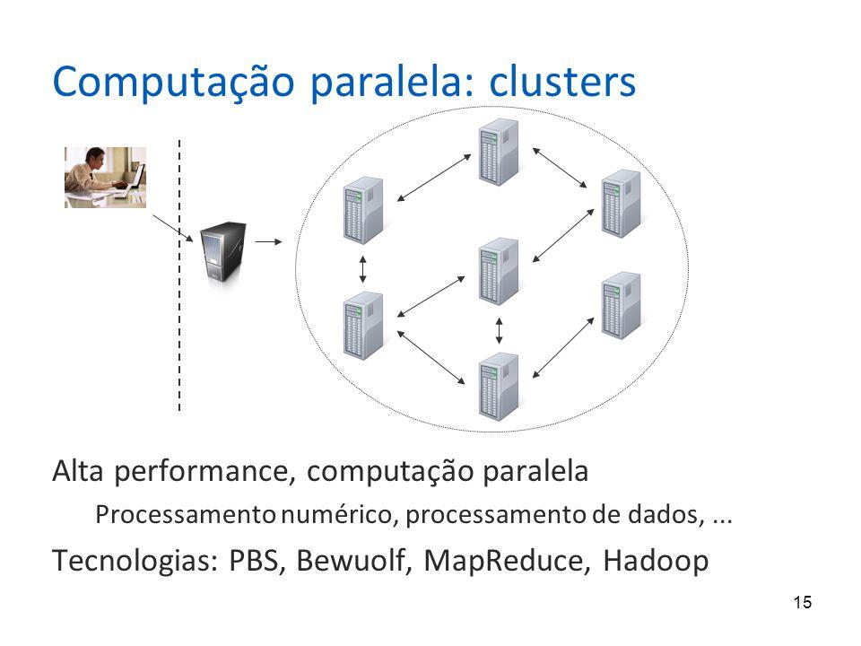 Computação paralela: clusters