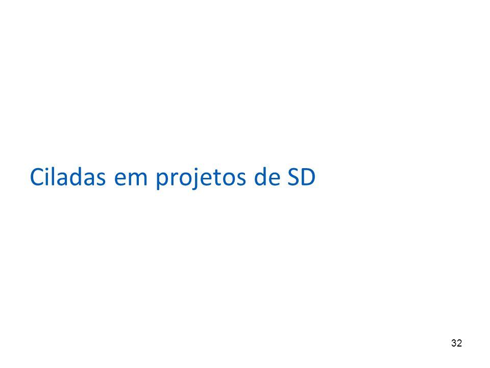 Ciladas em projetos de SD