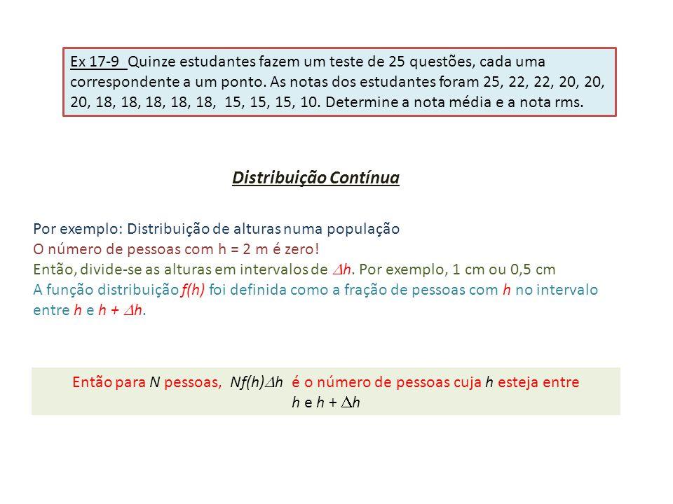 Distribuição Contínua