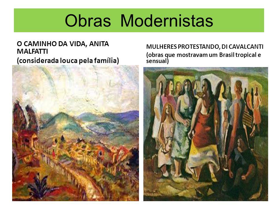 Obras Modernistas O CAMINHO DA VIDA, ANITA MALFATTI