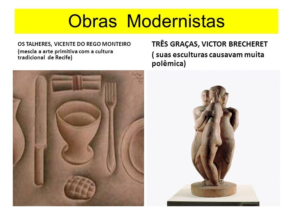 Obras Modernistas TRÊS GRAÇAS, VICTOR BRECHERET
