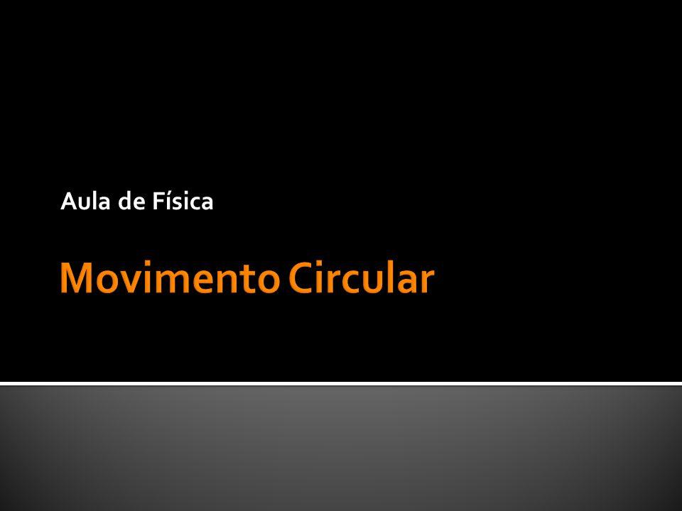 Aula de Física Movimento Circular