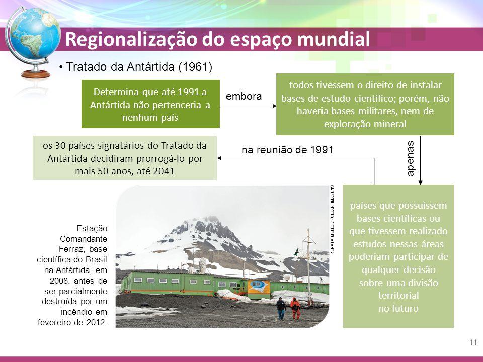 Determina que até 1991 a Antártida não pertenceria a nenhum país
